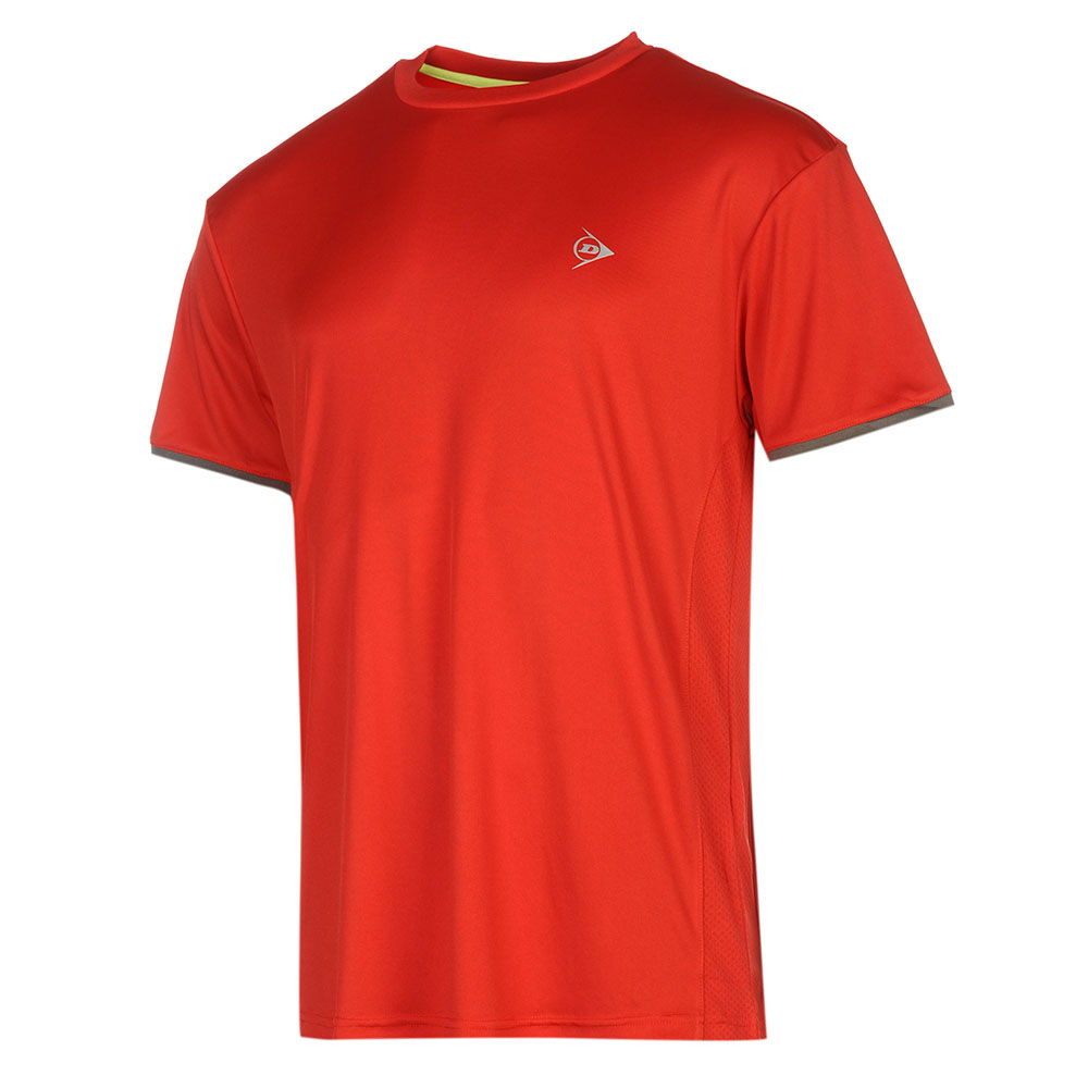 Image of   Dunlop AC Club Crew T-shirt Jongens - Rood / antraciet - 128