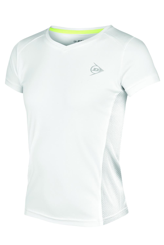 Image of   Dunlop AC Club Crew T-shirt Meisjes - Wit / antraciet - 164