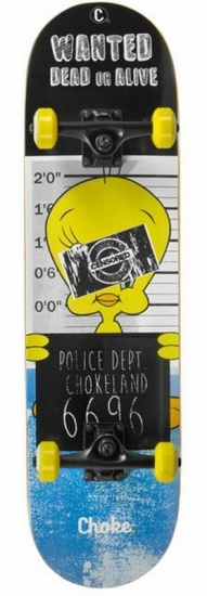 Image of   Choke Comic Series Skateboard 31 tommer - Yellow Bird