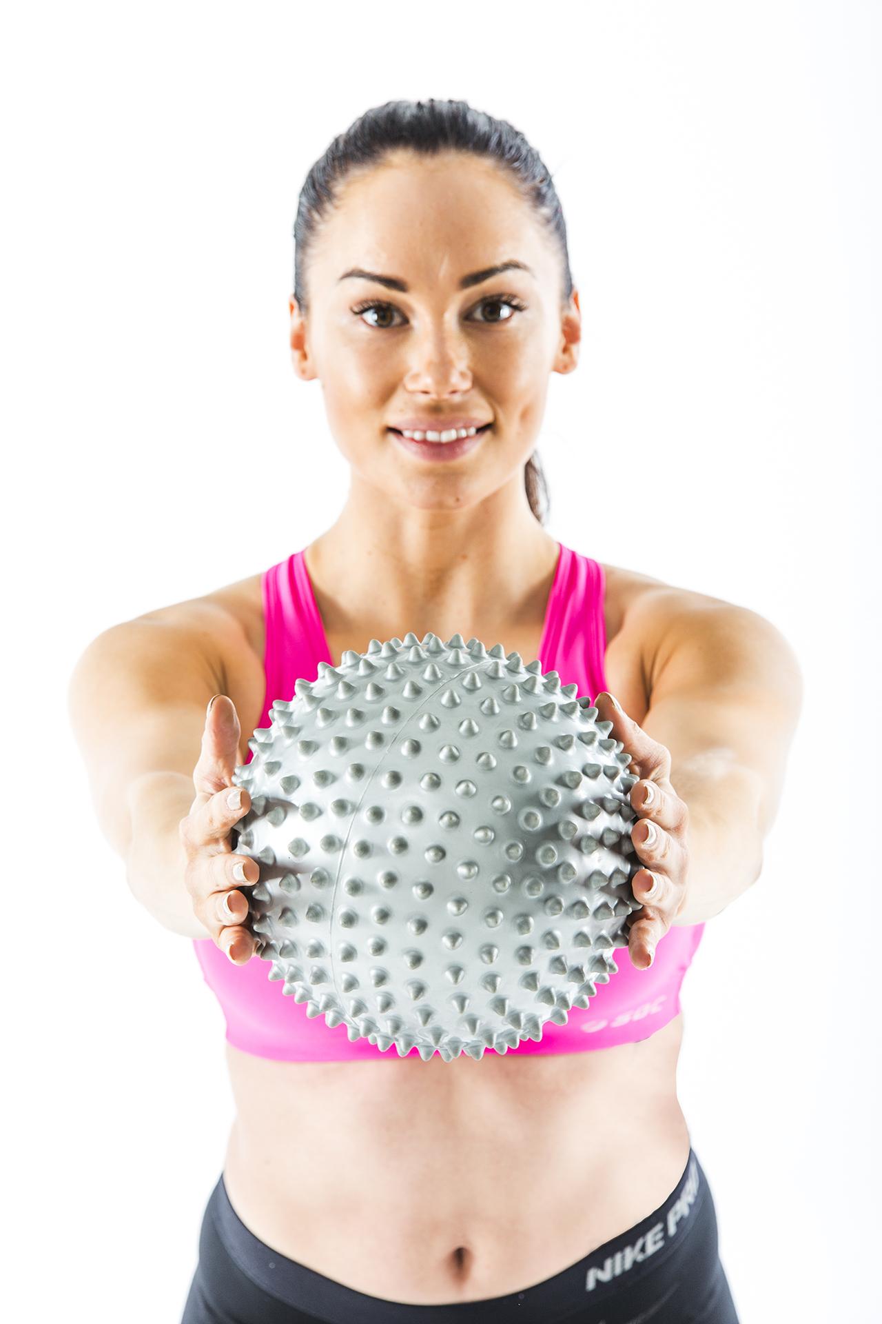 Gymstick Pilates Terapi Ball med DVD