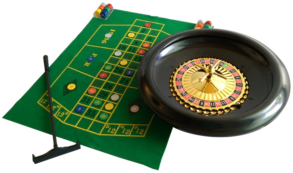 Image of   Roulette Set Luxe komplet 16 tommer / 40 cm