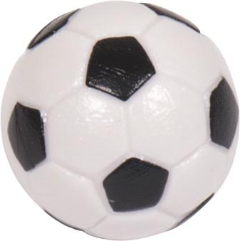 Image of   Buffalo Soccer Balls Bl & Wt 32mm