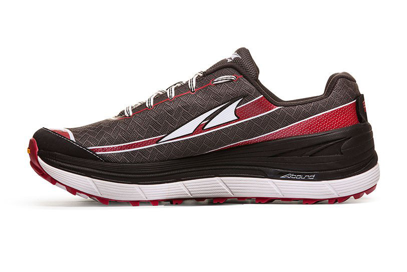Image of   Altra ® Olympus 2.0 Mænd Trail Running sko - Charcoal / Racing Red