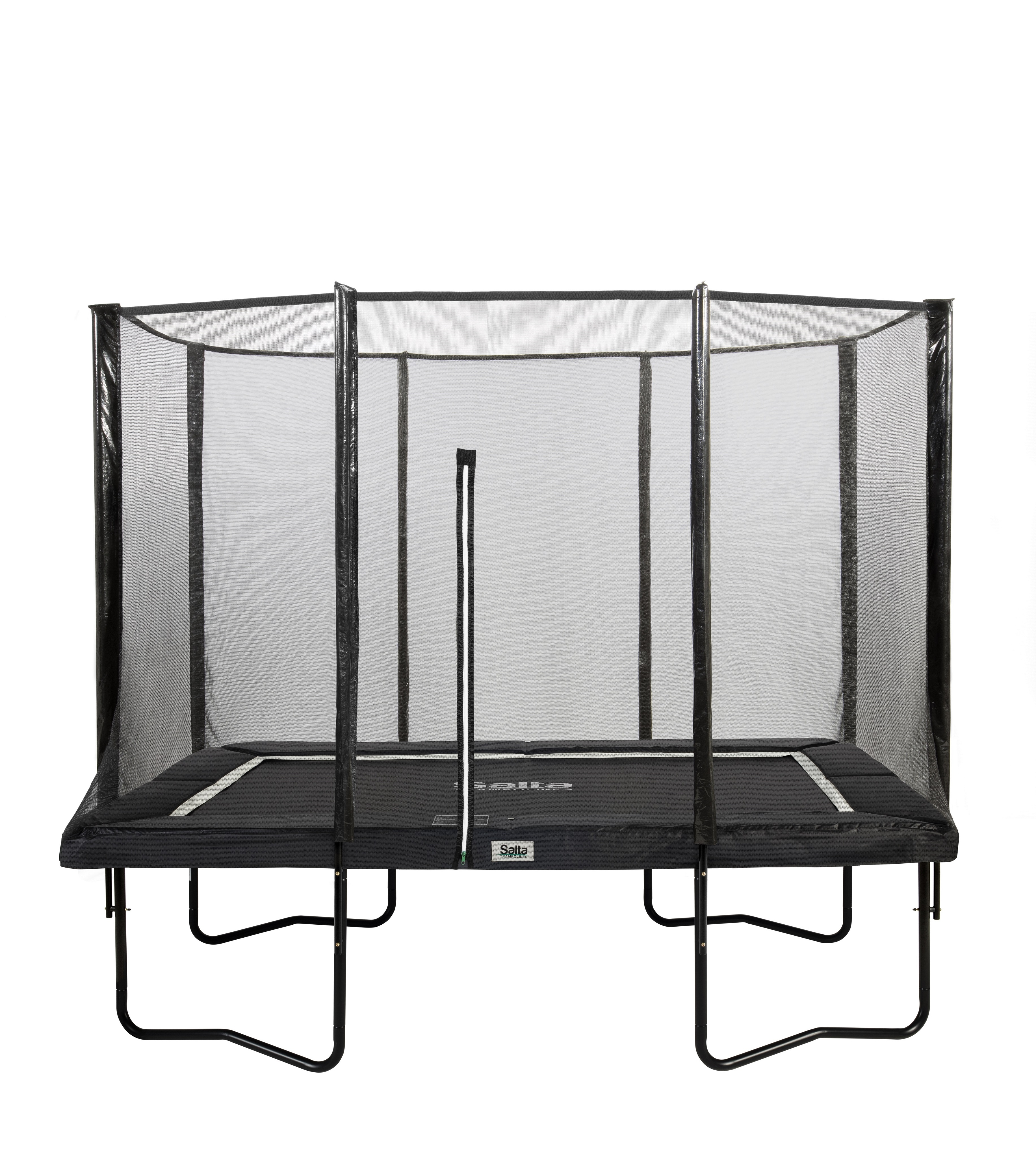 Image of   Salta Premium Black Edition Combo Trampolin - 153 x 214 cm - Sort