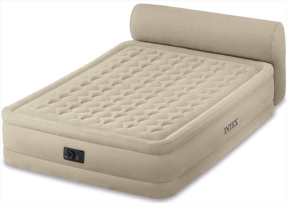 Image of   Intex Airbed med hovedplade