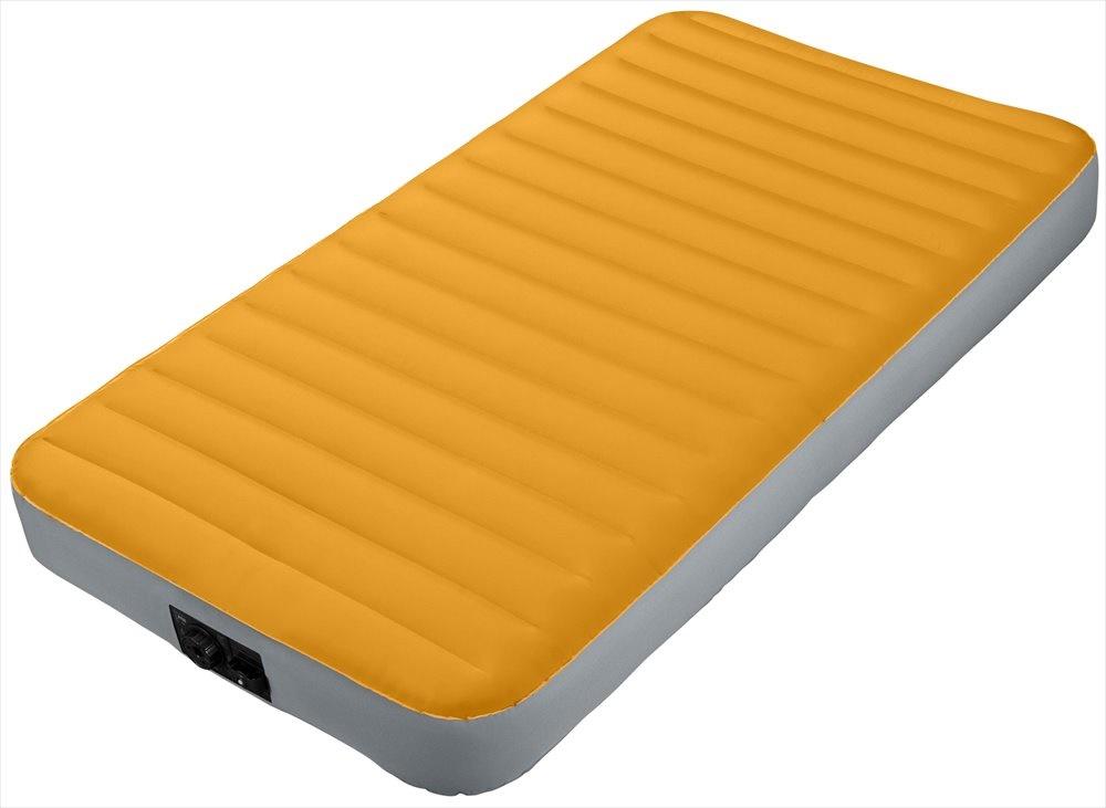 Image of   Intex Airbed med batteripumpe