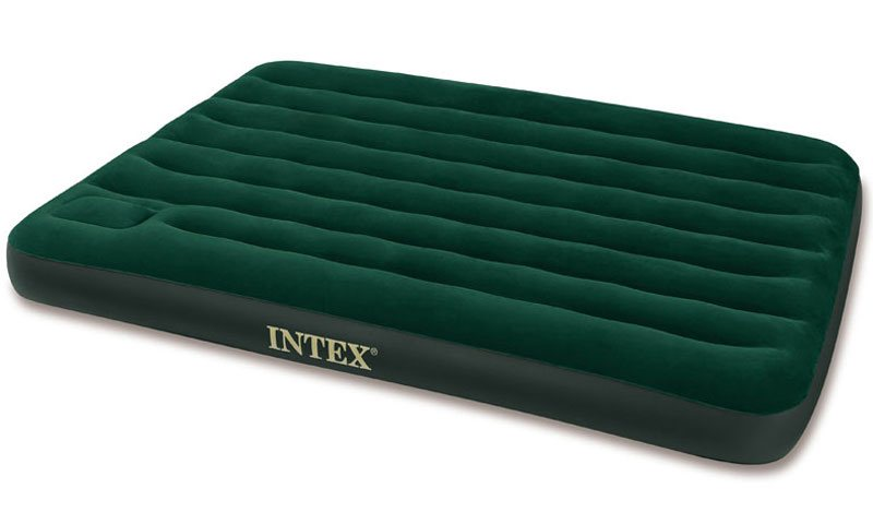 Image of   Intex Airbed med indbygget fodpumpe - 1,5 person