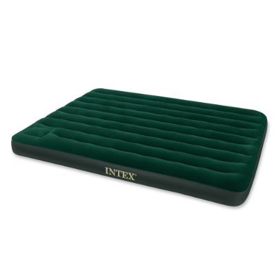 Image of   Intex Airbed med indbygget fodpumpe - 2 personer
