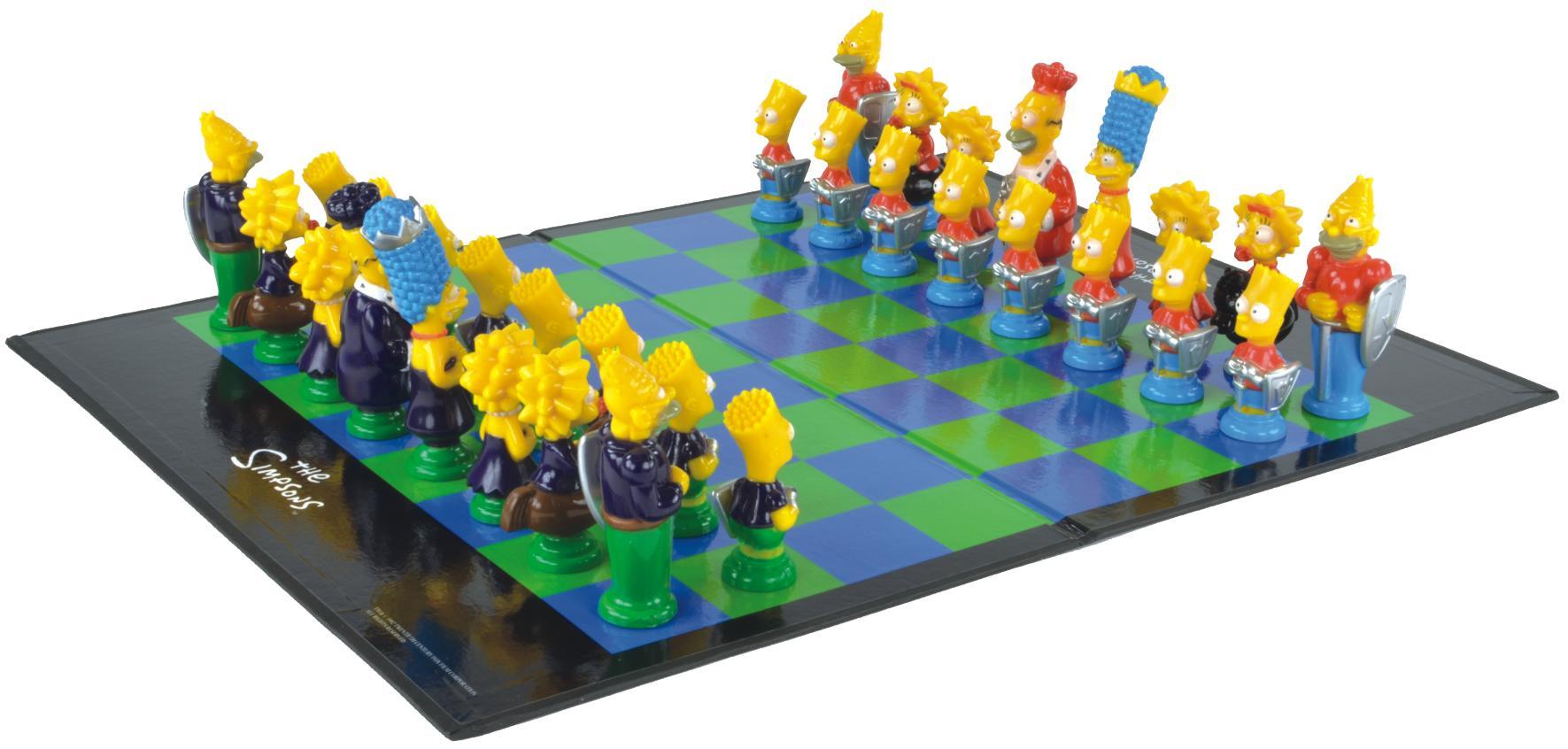 Juego de ajedrez de los Simpson