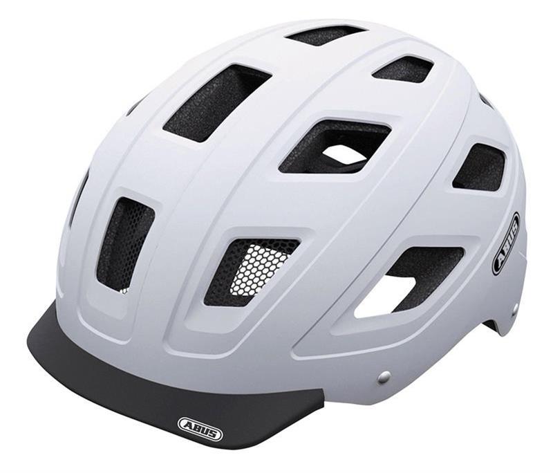 Image of   Abus Hyban Urban Helmet - Polar Matt White