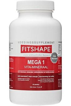 Image of   Fitshape Mega 1 Vitaminer / Mineraler 90 tablet