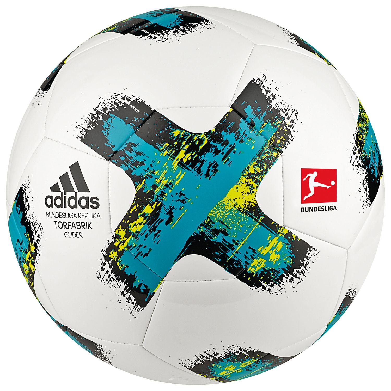 Image of   Adidas Torfabrik Glider Football - 5 - White / Blue
