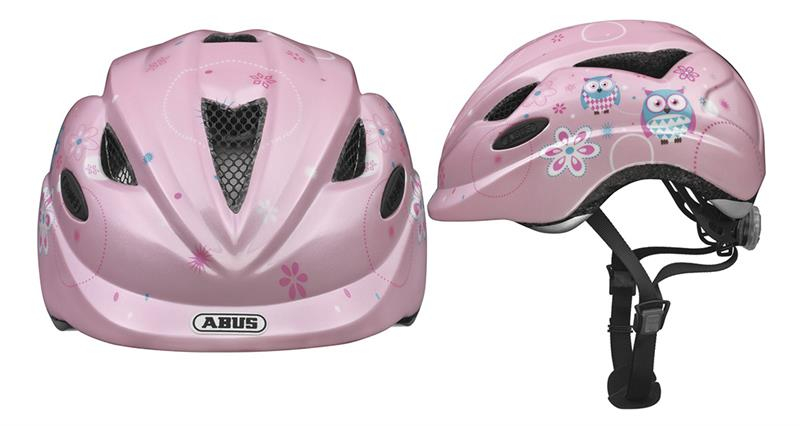 Image of   Abus Anuky Helmet junior - Owl Pink