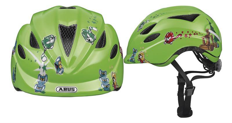 Image of   Abus Anuky Helmet junior - Catapult Green