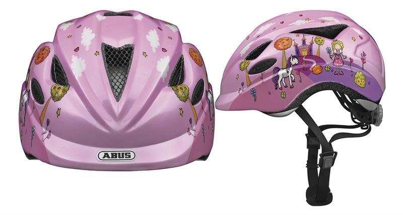 Image of   Abus Anuky Helmet junior - Princess Pink
