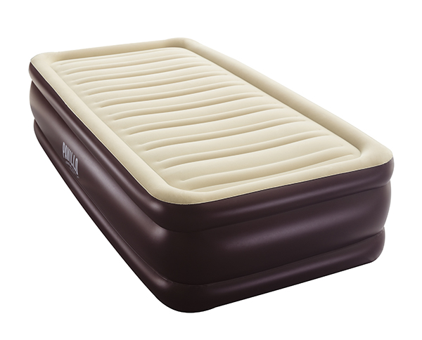 Image of   Bestway Pavillo Conerstone Twin Airbed - Beige / Brown