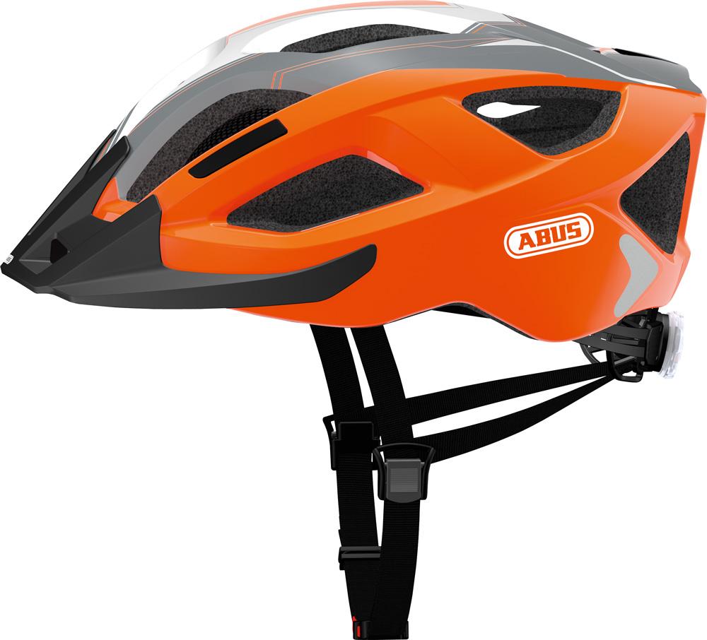 Image of   Abus Aduro 2.0 Road Helmet - Orange / Grå