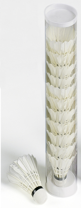 Image of   Bandito Feather Badminton Shuttles - 12 stk