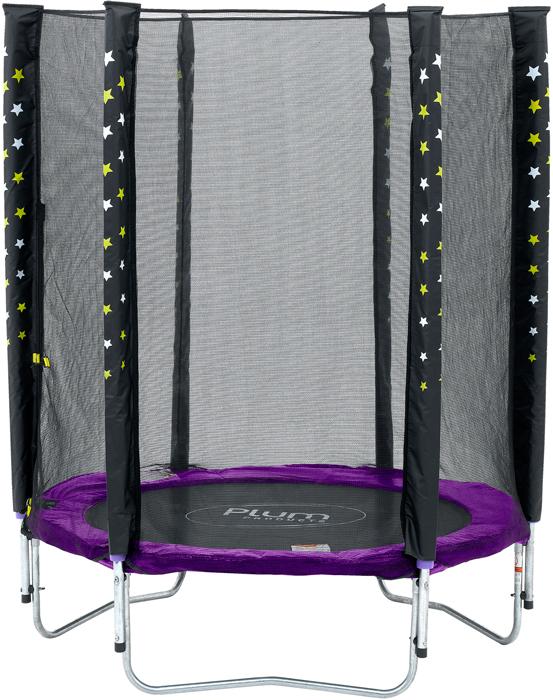 Image of   Plum Stardust trampolin og kabinet