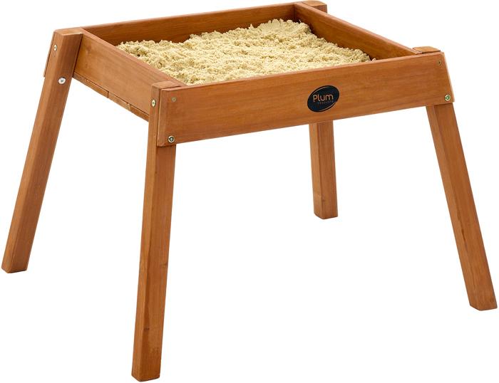Image of   Plum bygga och Splash trä sand tabellen