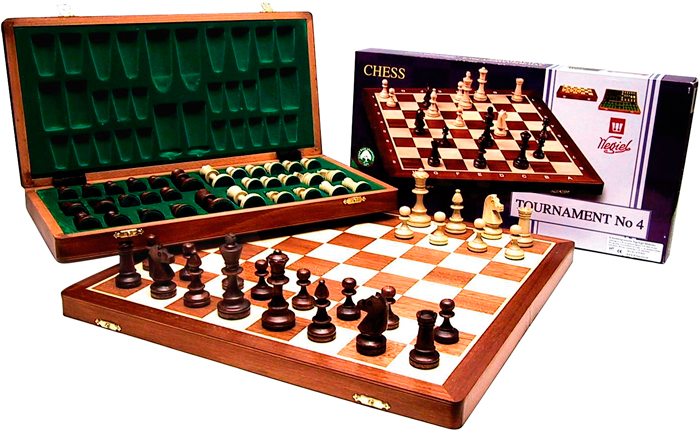 Image of   Buffalo Chess Cassette - 42 x 21 cm