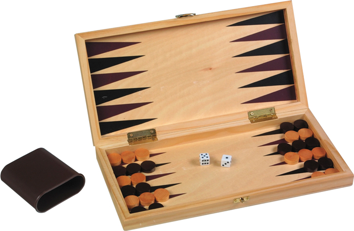Image of   Buffalo Backgammon Cassette