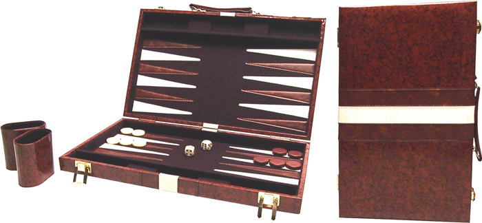 Image of   Buffalo Backgammon Case - 46 x 28 cm
