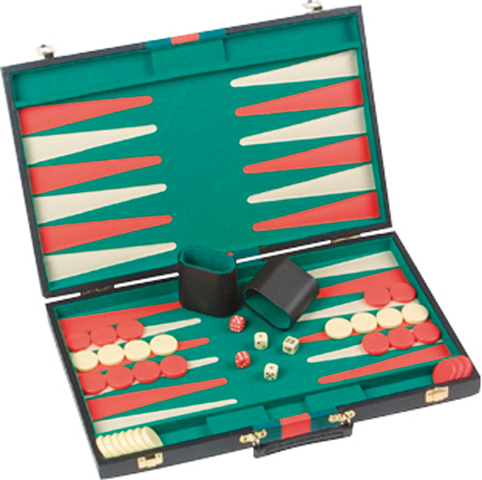 Image of   Buffalo Backgammon Case - 46 x 29 cm