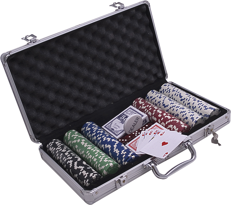 Image of   Aramith Aluminium Case Poker Chips 300