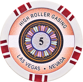 Image of   High Roller pl chips 5