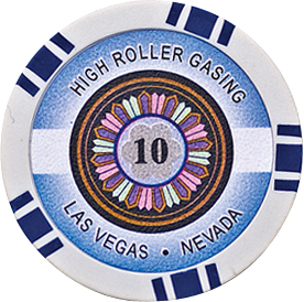 Image of   High Roller pl chips 10