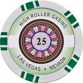 Image of   High Roller pl chips 25