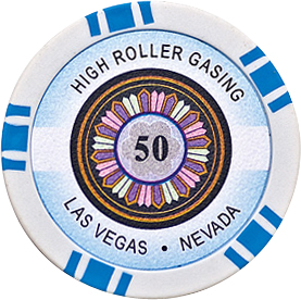 Image of   High Roller pl chips 50
