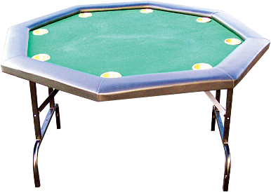 Image of   Buffalo Poker Table Octagon 120 cm