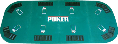 Image of   Buffalo Poker Top Texas 4 180 x 90 cm
