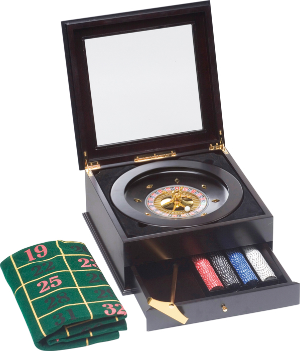 Image of   Buffalo Luxury Roulette Set + 200 Chips Inkluderet - 11,5 gr