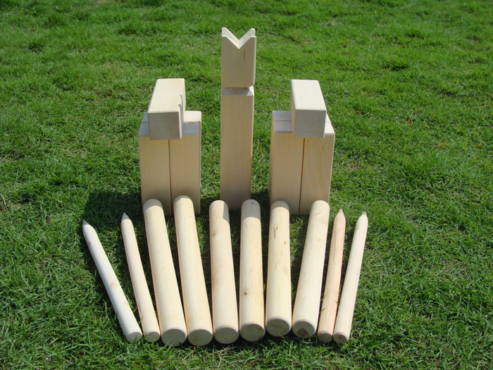 Image of   Bandito Kubb Viking spil Set