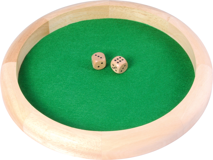 Image of   Buffalo Dice Bakke & 2 terninger - 29 cm
