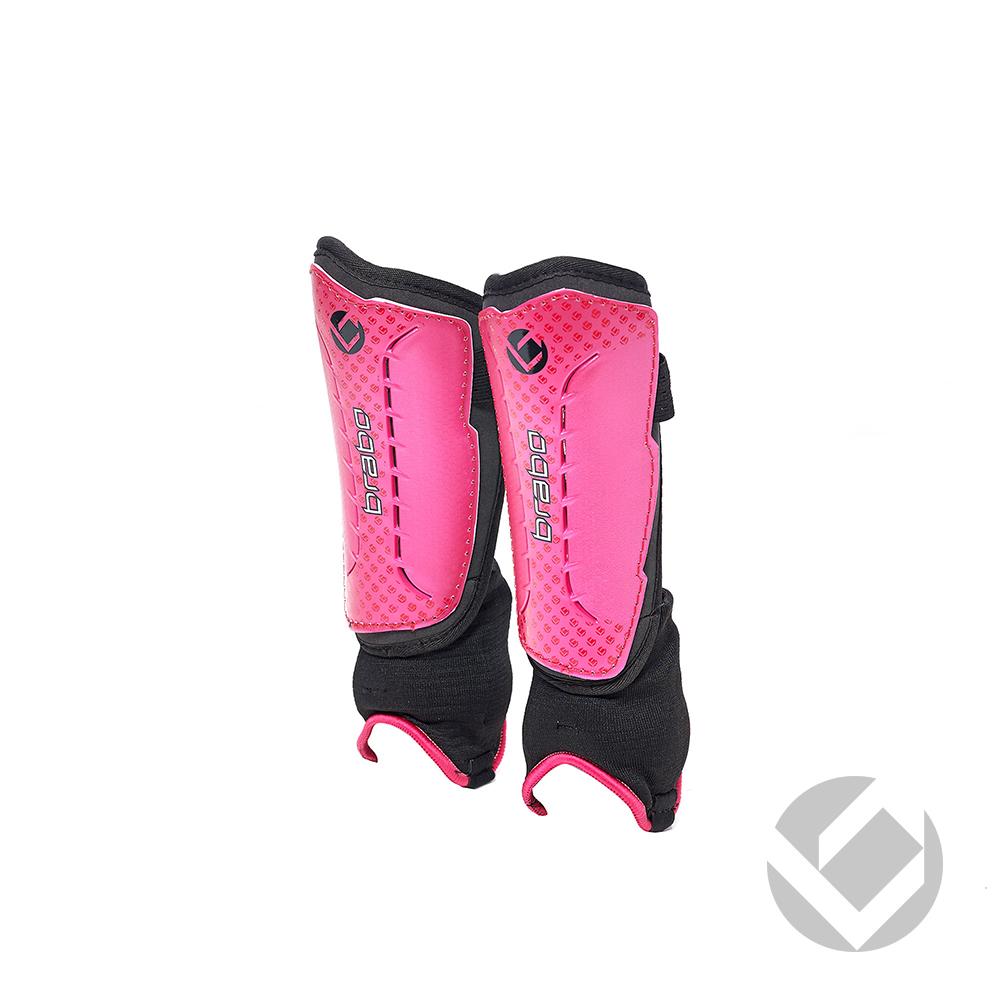 Image of   Brabo F4 Shinguard Metalic - Pink