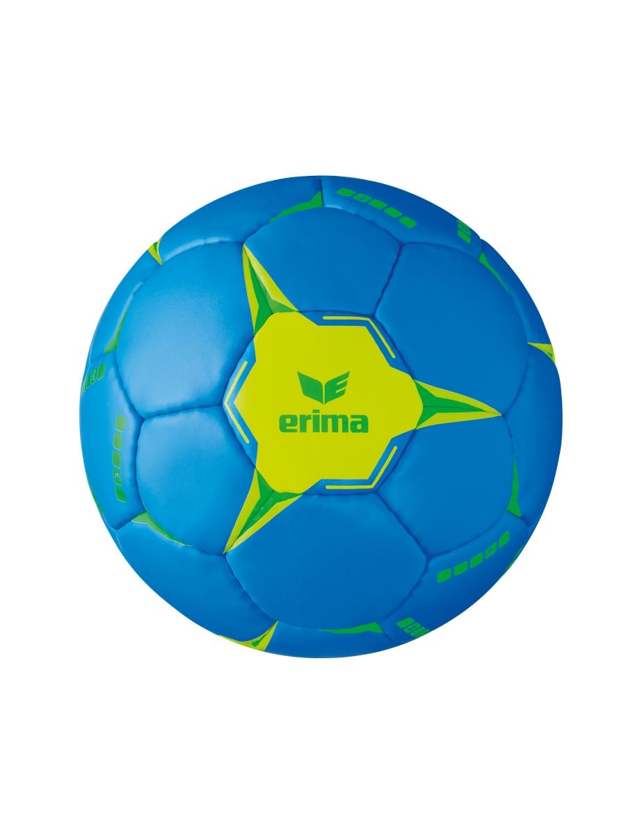 Image of   Erima G13 2.0 Training Handball - Blå / Lime - 2