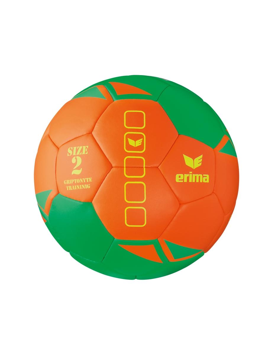 Image of   Erima Griptonyte Training Handball - Grøn / Orange - 2