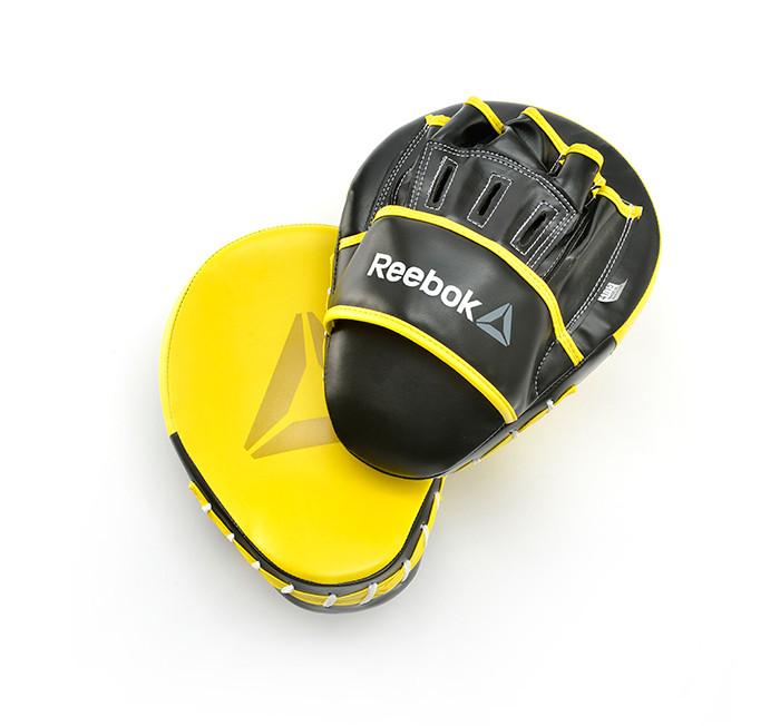 Image of   Reebok Combat Boxing Pads Hook & Jab - Gul