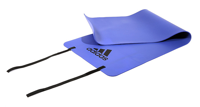 Image of   Adidas Fitness mat 173 x 61 x 0,6 cm - Flash Lilla