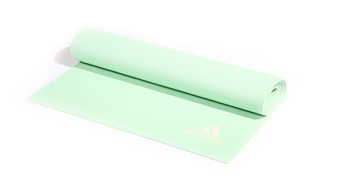 Image of   Adidas Yoga Mat 173 x 61 x 0,4 cm - Frozen Green