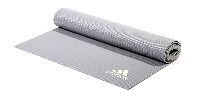 Adidas Yoga Mat 4 mm Grijs
