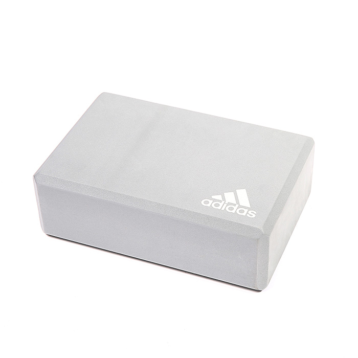 Image of   Adidas Yoga Block (Skum) 22,8 x 15,2 x 7,6 cm - Light Grey