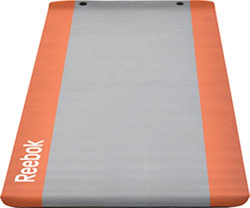 Image of   Reebok Eco yogamatta 183 x 61 x 0,6 cm - Grå / Otange