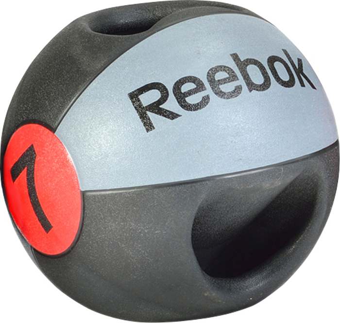 Image of   Reebok Double Grip Medicine Ball - 7 kg