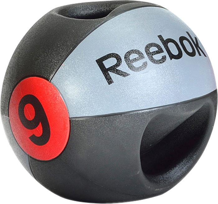 Image of   Reebok Double Grip Medicine Ball - 9 kg
