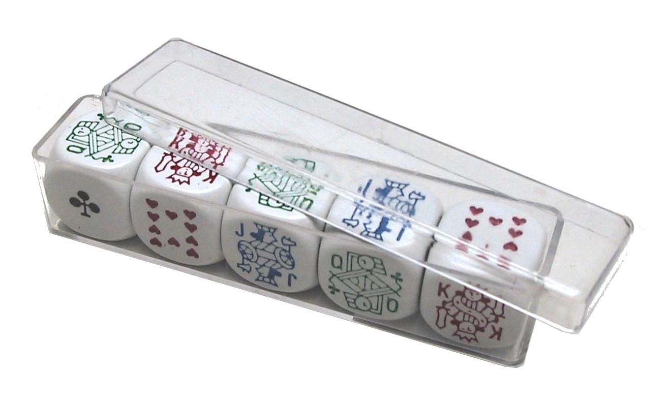 Image of   Poker Chips sæt 18 mm 5 i plastæske